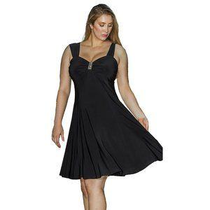 Funfash Plus Size Women Empire Waist A Line Dress
